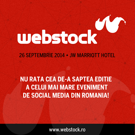 Blogger acreditat la Webstock 2014